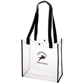 Clear Stadium Tote Bag for Marketing