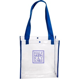 Clear Stadium Tote Bag Imprinted with Your Logo