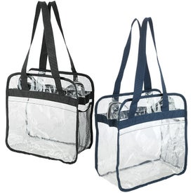 Athina Clear Stadium Tote Bag