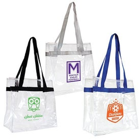 Clear Through Tote Bag