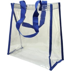 Clear Tote Bag with Your Slogan