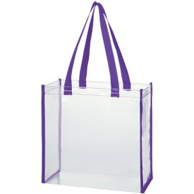 Customized Clear Tote Bag