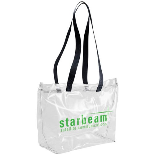 Clear Vinyl Tote Bag For Your Church