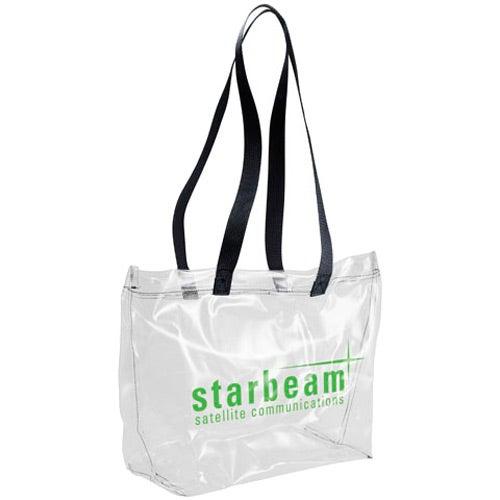 Clear Vinyl Tote Bag