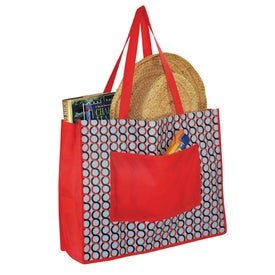 Clique Pocket Tote Printed with Your Logo