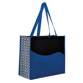 Clique Wave Pocket Tote Branded with Your Logo
