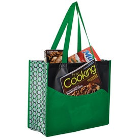 Clique Wave Pocket Tote for Advertising