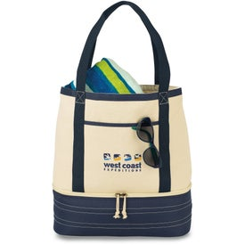 Coastal Cotton Insulated Tote Bag
