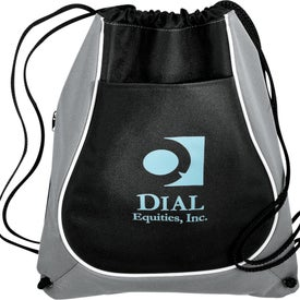 Coil Cinch Tote Printed with Your Logo