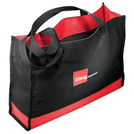 Company Color Band Carry-All Tote
