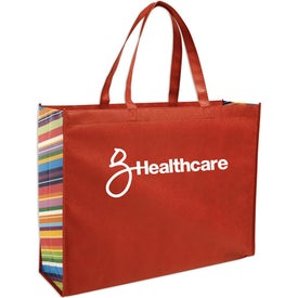 Advertising Non-Woven Color Burst Expo Tote Bag