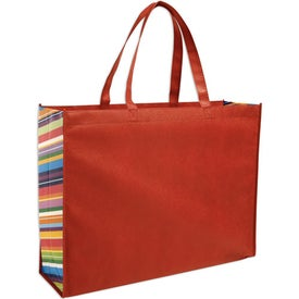 Non-Woven Color Burst Expo Tote Bag with Your Logo