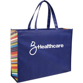 Non-Woven Color Burst Expo Tote Bag for your School