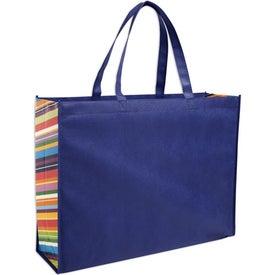 Company Non-Woven Color Burst Expo Tote Bag
