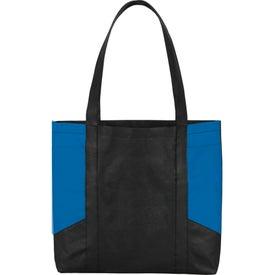 Color Panel Non-Woven Tote Bag