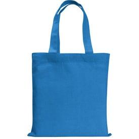 Printed Colored Mini Economy Tote Bag