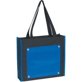 Contempo Tote Bag Imprinted with Your Logo