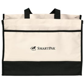 Contemporary Tote Bag Printed with Your Logo