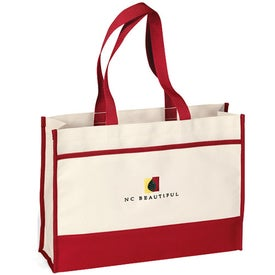 Printed Contemporary Tote Bag