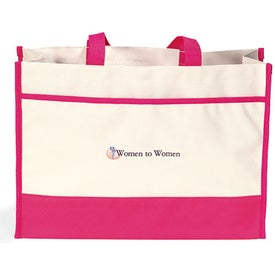 Contemporary Tote Bag with Your Logo