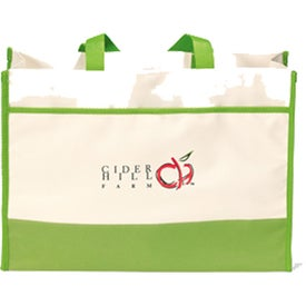 Contemporary Tote Bag Branded with Your Logo