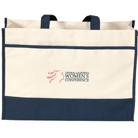 Branded Contemporary Tote Bag