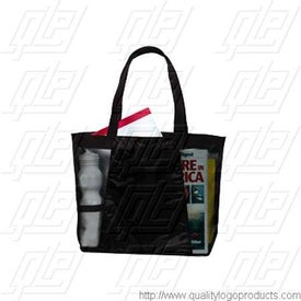 Contour Mesh Tote Imprinted with Your Logo