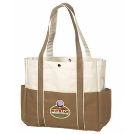Contrast Boat Tote for Your Company
