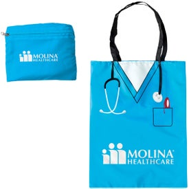 Promotional Convertible Scrubs Tote Bag