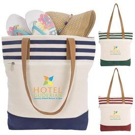 Cora Lane Cotton Tote Bag