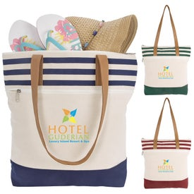 Cora Lane Cotton Tote Bags