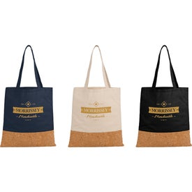 Cotton and Cork Convention Tote Bags
