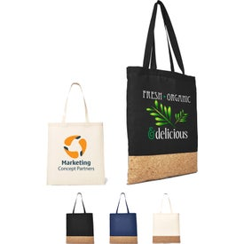 Cotton and Cork Tote Bag