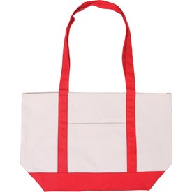 Cotton Canvas Boat Tote for Advertising