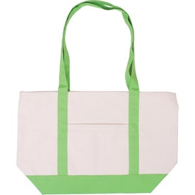 Customized Cotton Canvas Boat Tote