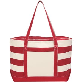 Cotton Canvas Nautical Tote Imprinted with Your Logo