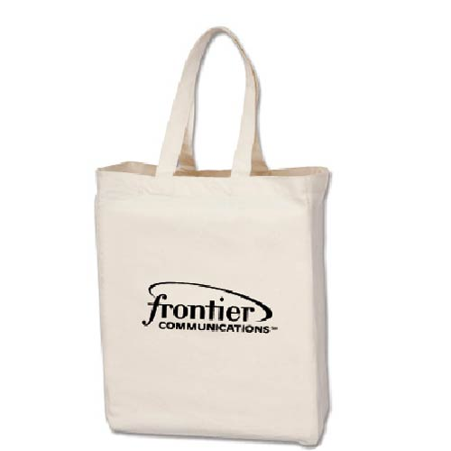 Promotional Cotton Canvas Tote Bags with Custom Logo for $2.22 Ea.