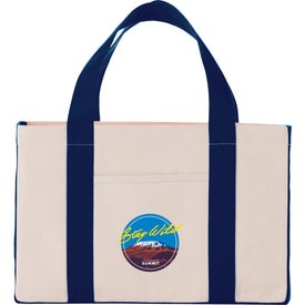 Cotton Canvas Utility Tote Bags