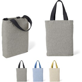 Cotton Chambray Tote Bag