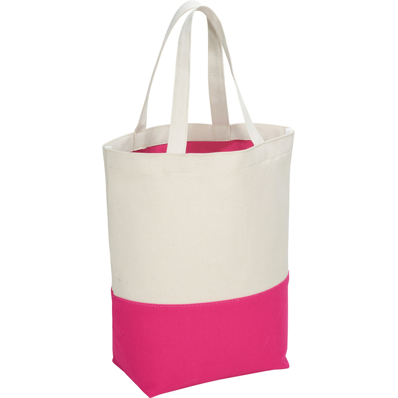 Cotton Color Pop Tote Bag