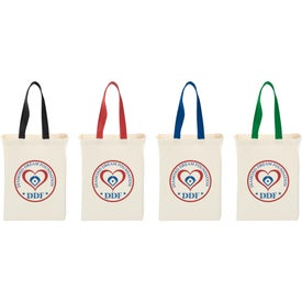 Nebraska Cotton Canvas Grocery Tote Bag