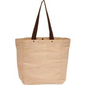 Cotton Jute Tote Bag