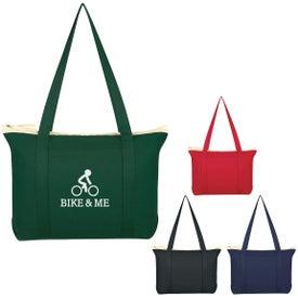 Cotton Shoulder Tote Bag