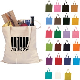 "Cotton Tote Bag (15"" x 16"", Colors, No Quick Ship)"
