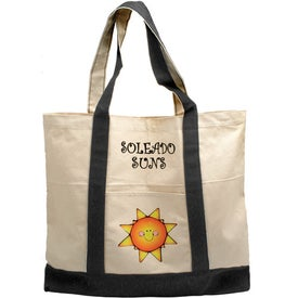 Printed Cotton Tote