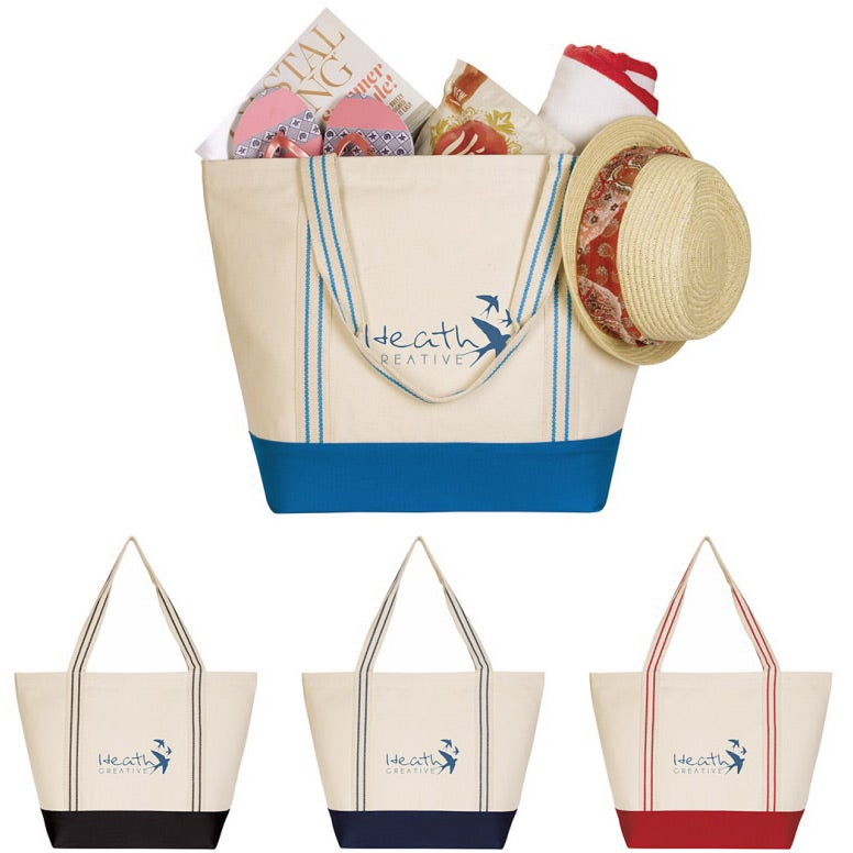 Cotton Travel Tote Bag