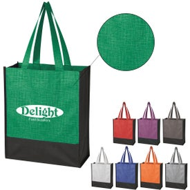 Crosshatch Mini Non-Woven Tote Bags