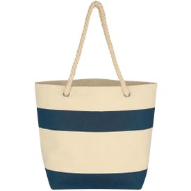 Cruising Tote Bag with Rope Handles Printed with Your Logo