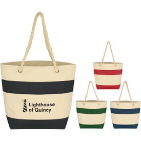 Cruising Tote Bag with Rope Handles (Screen Printed)