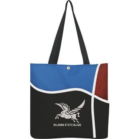 Curl Tote Bag for Advertising